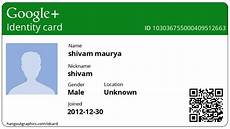 How To Make A Id Card How To Create Personal Google Id Card Online All In One