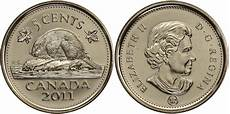 Canadian Nickel Value Chart Coins And Canada 5 Cents 2011 Canadian Coins Price