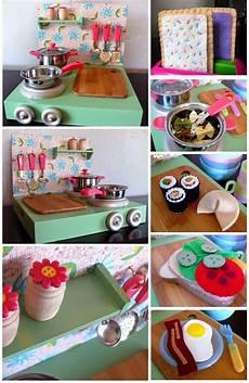 dirt cheap decor play kitchen and food diy