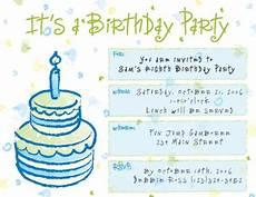 kumpulan gambar kartu undangan ulang tahun bahasa inggris
