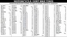 Dirt Bike Tube Size Chart Wholesale Tyre Motorcycle Tyre And Tube Motorcycle