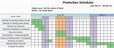 Production Schedule Excel Bakery Production Schedule Template Excel Post Production