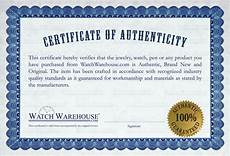 Make A Certificate Of Authenticity Authentic Brand New Watches In Their Original Box With
