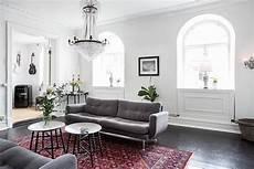 scandinavian home design combining white black and