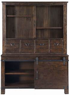 pine hill rustic pine storage cabinet from magnussen home