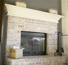 How To White Paint 7 Steps To Whitewashing Your Brick Fireplace