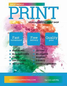 Create Free Printable Flyer Free Print Shop Flyer Template In Adobe Photoshop