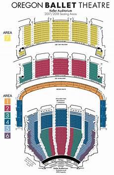 Engeman Theater Seating Chart Seating Charts Oregon Ballet Theatre Portland Oregon