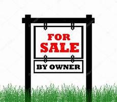 Real Estate For Sale By Owner Websites Real Estate Home For Sale Sign By Owner Stock Photo