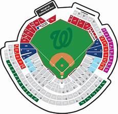 Washington Nats Stadium Seating Chart Miniplans Washington Nationals