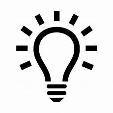 Led Light Bulb Symbol Lightbulb Icon Clipart Panda Free Clipart Images