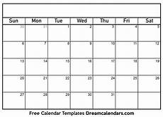 Blank Caledar Printable Blank Calendar 2021 Dream Calendars