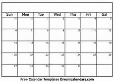 Calender Form Printable Blank Calendar 2021 Dream Calendars