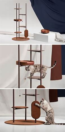 Modern Cat A Cat Tree Designed To Blend In With The Interiors Of