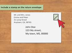 Return Envelope 3 Ways To Address An Envelope To A Family Wikihow