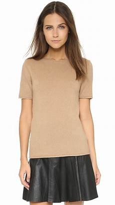 sleeve sweater for sweater lyst theory tolleree sleeve sweater in