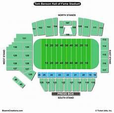 Softball Hall Of Fame Stadium Seating Chart Tom Benson Hall Of Fame Stadium Seating Chart Seating
