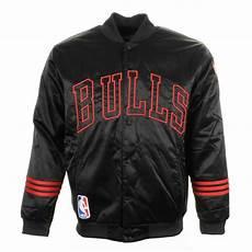 nba coats for adidas originals nba chicago bulls jacket in black for