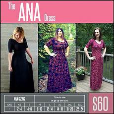 Marina Dress Size Chart Ana Https Www Facebook Com Groups Lularoejilldomme