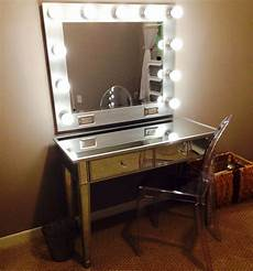Makeup Vanity With Lights My Diy Vanity Mirror After With Led Lights For A Lot