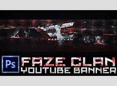 Speed Art: 'FaZe Clan YouTube Banner' (Photoshop CS6