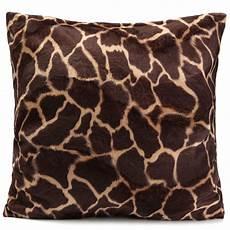 fashion square pillow cases animal print leopard zebra