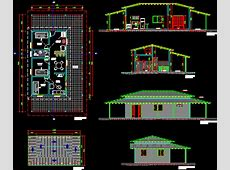 Rustic House DWG Section for AutoCAD ? Designs CAD