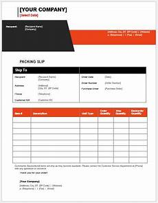 Packing List Template Excel Packing List Templates For Ms Word Word Amp Excel Templates