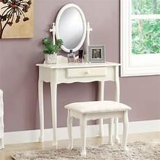 Bedroom Vanity Furniture Monarch Bedroom Vanity Set Antique White Bedroom