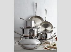 All Clad Copper Core 14 Pc. Cookware Set   Cookware