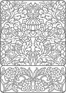 Jugendstil Malvorlagen Anleitung Creative Deluxe Edition Nouveau Coloring