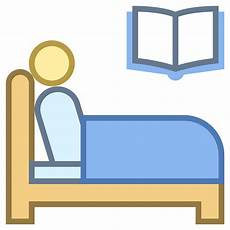 read in bed icon free at icons8