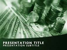 Money Background For Powerpoint Royalty Free Money Powerpoint Template In Green