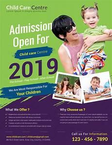 Child Care Flyer Design Special Child Care Centre Flyer Design Template In Psd