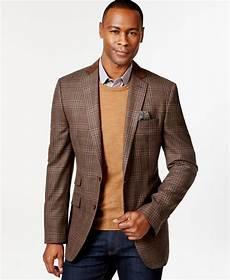 sports coats for big and baker tallia big vetrino tartan brown sport coat with