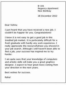 Congratulations Email Template New Job Congratulation Letter Example Of An Email