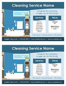 Cleaning Flyer Samples Cleaning Service Flyer Template For Word