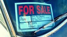 For Sale Sign For Car How Do You Measure That All Important Value Of Your Car