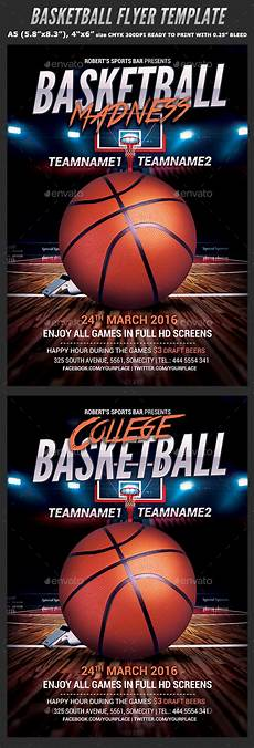 Basketball Flyer Basketball Flyer Template By Hotpin Graphicriver