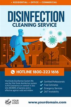 Office Cleaning Flyer Promoting Your Cleaning Service During Covid 19 Marketing