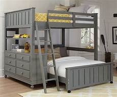 2045 size loft bed with size lower bed
