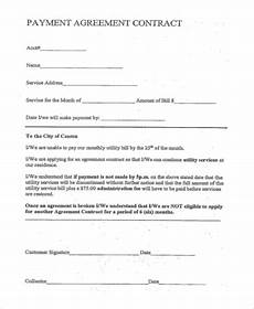 Monthly Payment Contract Free 8 Payment Agreement Samples In Pdf Ms Word