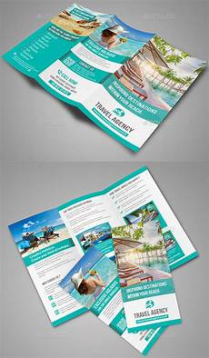 Travel Brochure Cover Design 40 Best Travel And Tourist Brochure Design Templates 2018