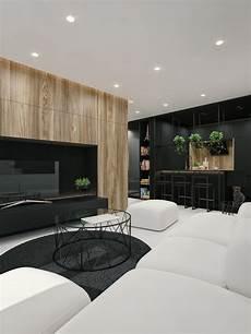 Interior Architecture And Design Black And White Interior Design Ideas Modern Apartment By