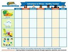Healthy Chart Health And Fitness Chart By Adventure To Fitness Tpt