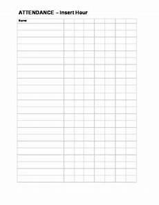 Blank Attendance Sheet For Teachers Blank Attendance Sheet By Middle School Survival Guide Tpt