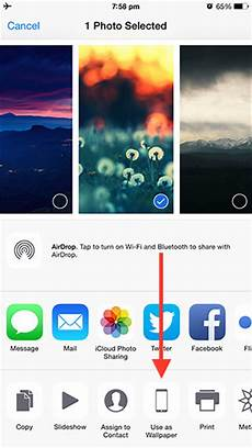 Changing Wallpaper On Iphone by How To Change The Wallpaper On Your Iphone Or