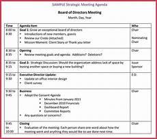 Board Agenda Template How To Create A Board Meeting Agenda 12 Templates