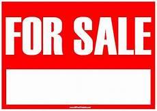 For Sale Car Sign Template For Sale Sign Free Printable Allfreeprintable Com