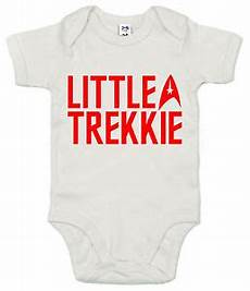 trek baby clothes trek bodysuit quot trekkie quot baby clothes